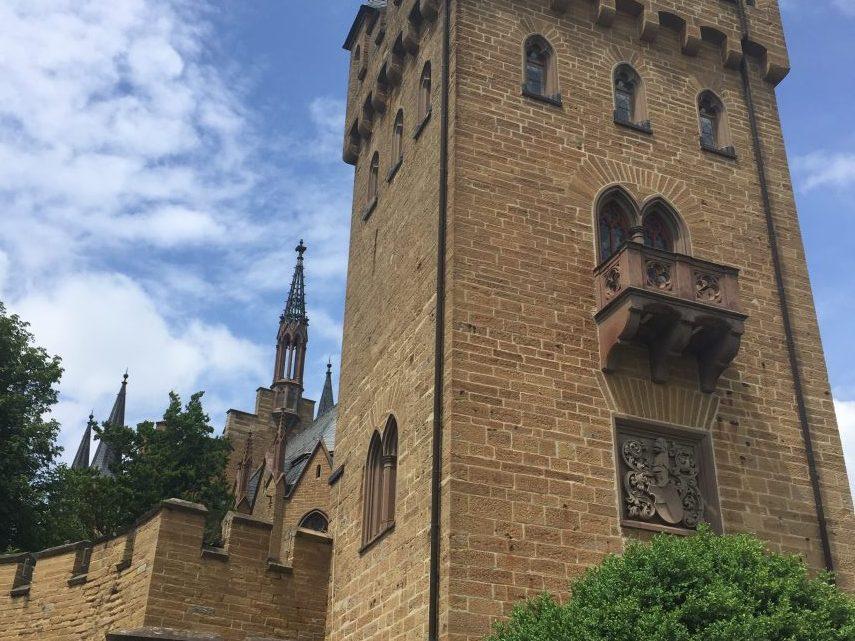 Burg Hohenzollern: um típico castelo de contos de fadas