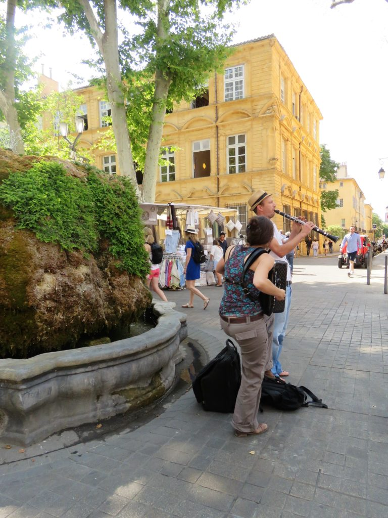 Aix-en-Provence - Fontaine d'Eau Chaude