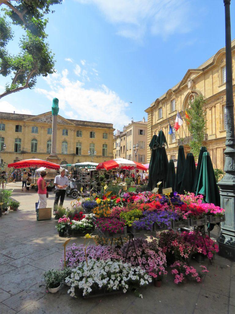 Aix-en-Provence - Place de l'Hôtel de Ville
