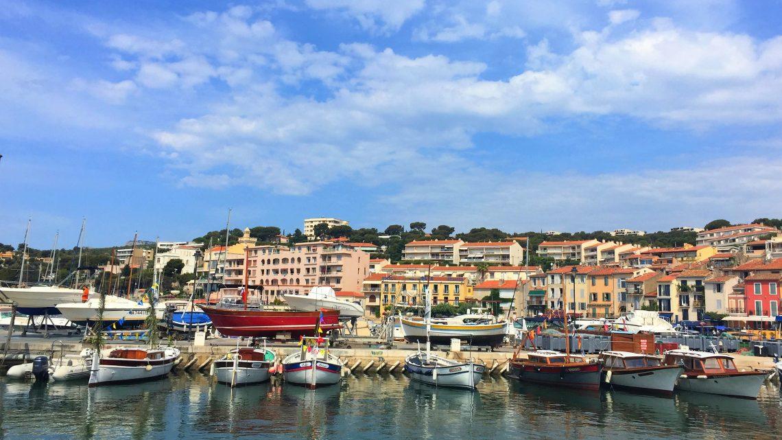 As Calanques de Cassis e Marseille