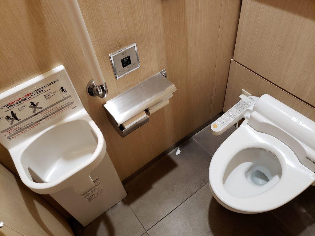 Banheiro no Japão