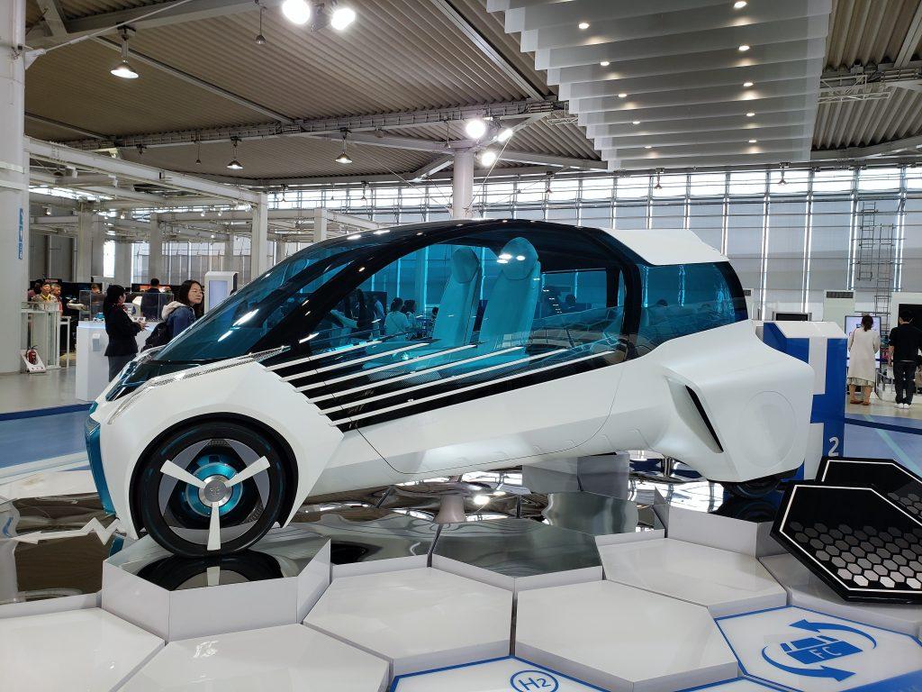 Japão Carro do Futuro