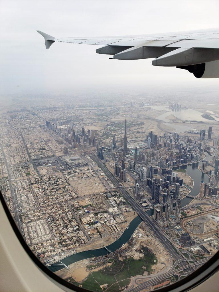 Dubai vista de cima